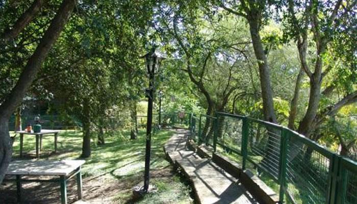 Plaza con vista al río Carcarañá